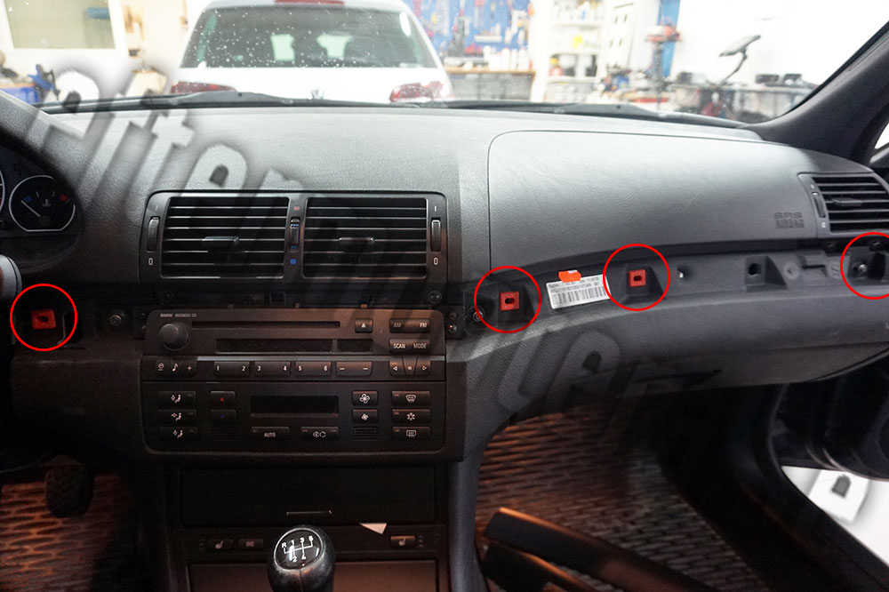 Installera handsfree i BMW 3 serie Business CD