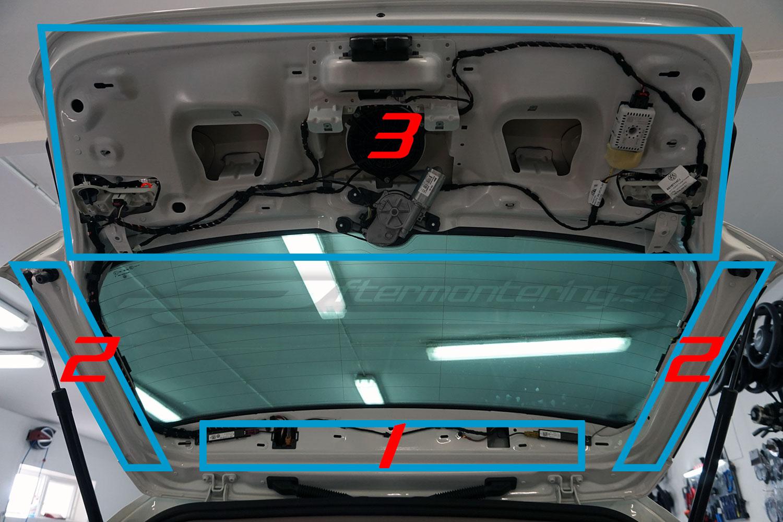 Installera back-kamera i Volkswagen Golf 7
